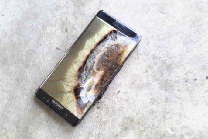 Explosão de Galaxy Note 7