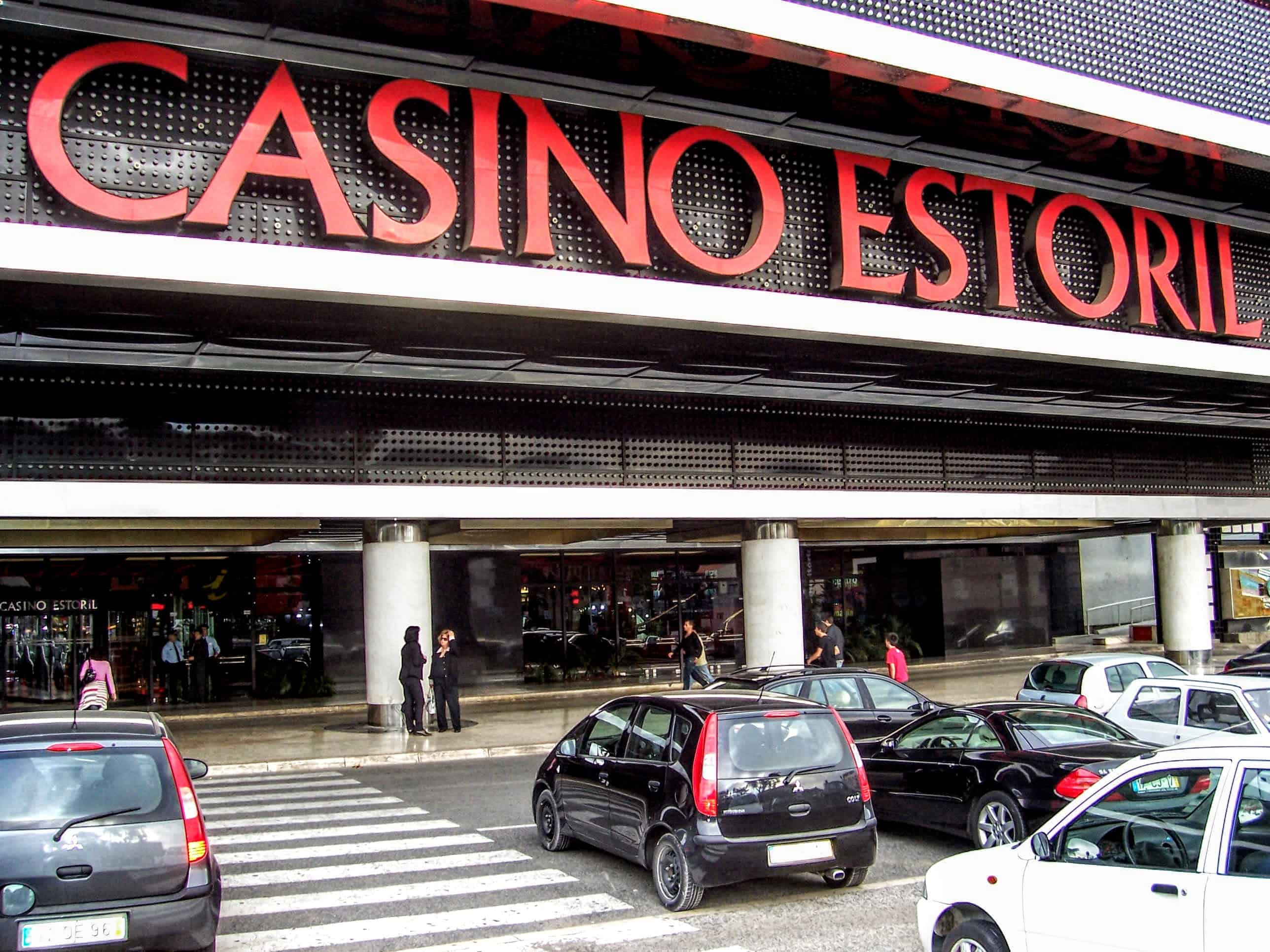 Front and entrance of the Casino Estoril, associated with James Bond