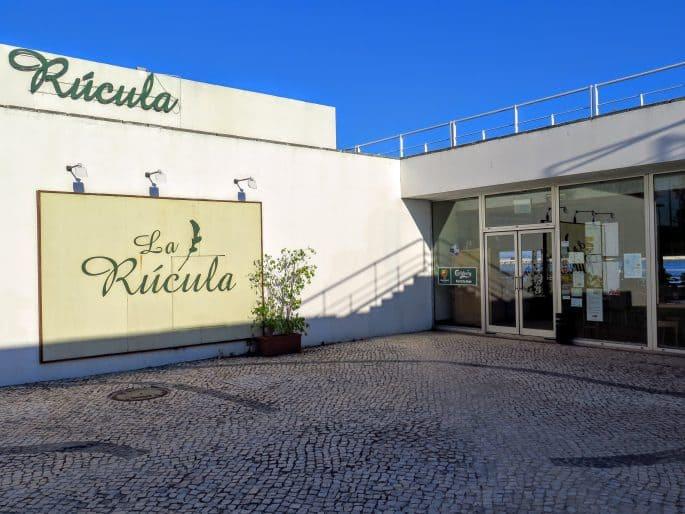 Fachada do Restaurante La Rúcula