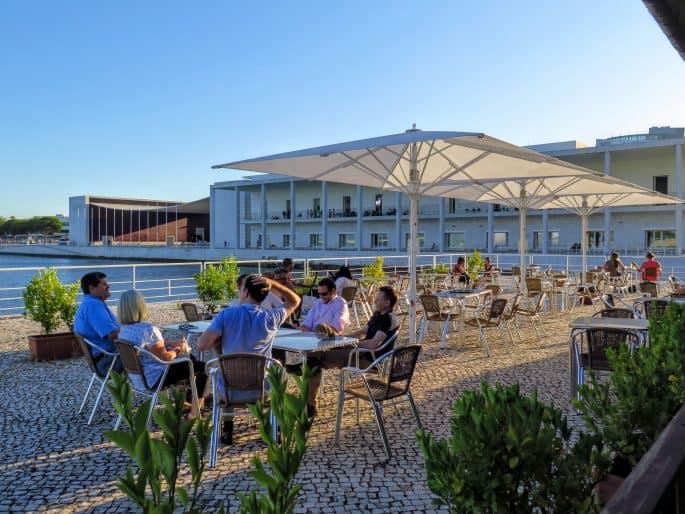 Esplanada do Restaurante La Rúcula
