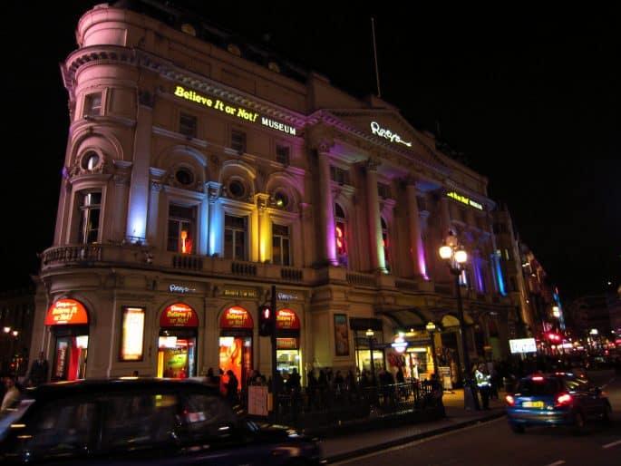Museu Ripley's Believe It or Not!, em Londres - O prédio