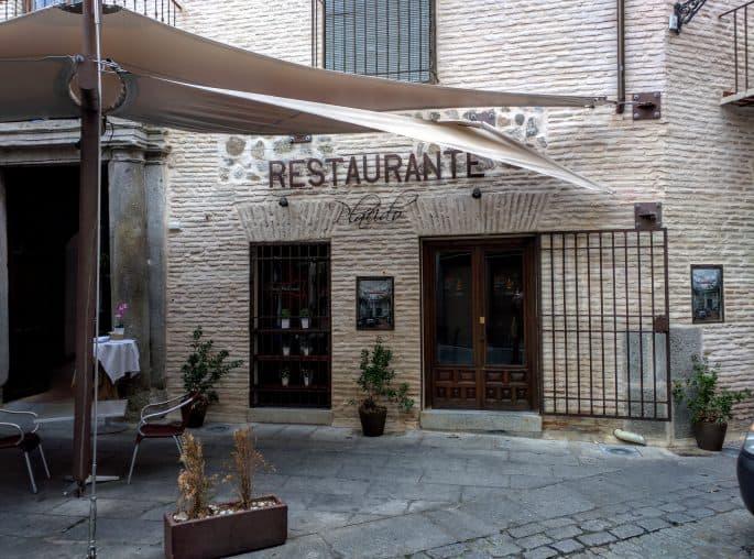 Restaurante Plácido, em Toledo | Fachada