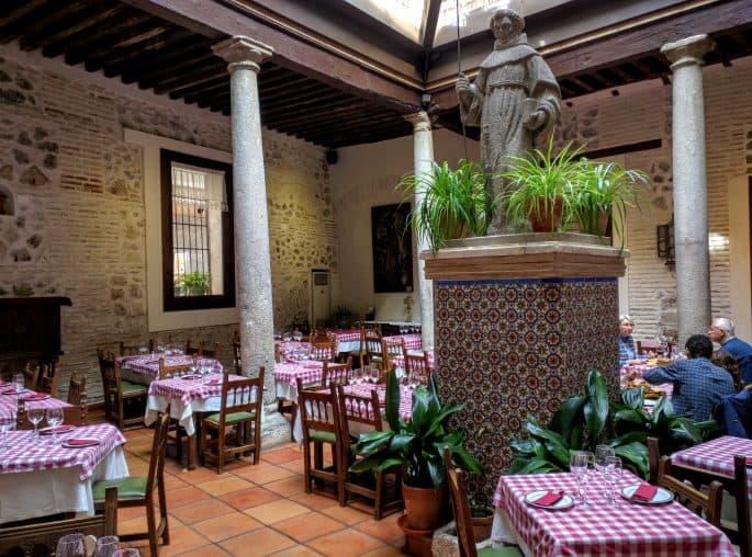 Restaurante Plácido, em Toledo | Vista geral do interior
