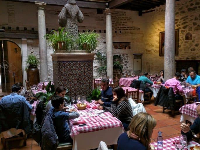 Restaurante Plácido, em Toledo | Salão interior