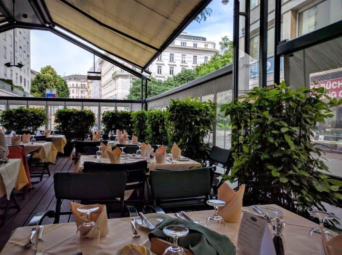 Restaurante Plachutta, em Viena - Esplanada