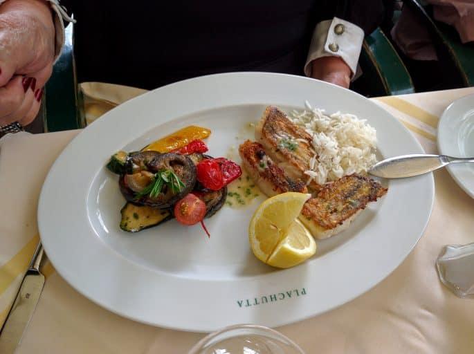 Restaurante Plachutta, em Viena - Prato servido