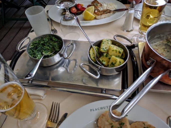 Restaurante Plachutta, em Viena - Refeição