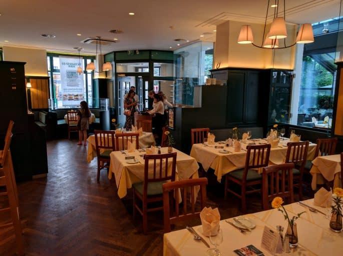 Restaurante Plachutta, em Viena - Interior
