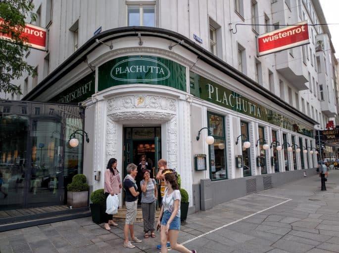 Restaurante Plachutta, em Viena - Fachada