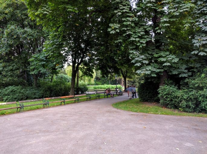 Stadtpark: parque em Viena