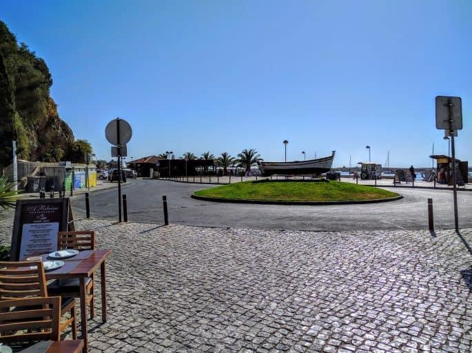 Restaurante A Ribeira - Alvor, Algarve, Portugal   Em frente