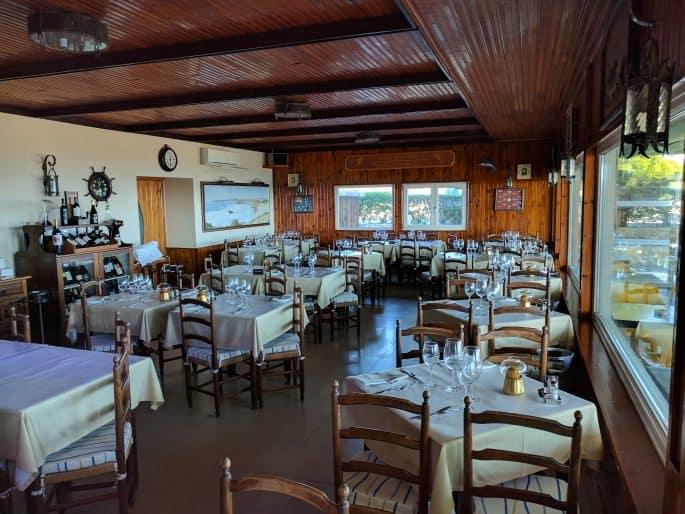 Restaurante Mar À Vista, em Sagres - Algarve, Portugal