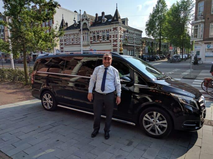 Reco: taxista e guia de turismo em Amsterdã