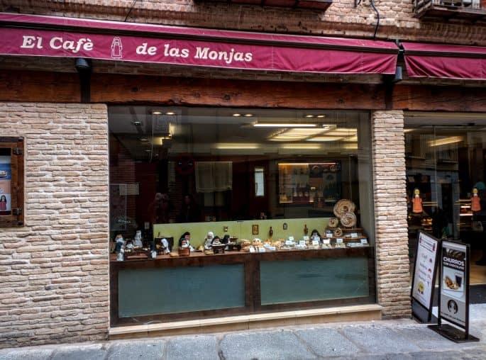 El Café de las Monjas: doçaria em Toledo, Espanha