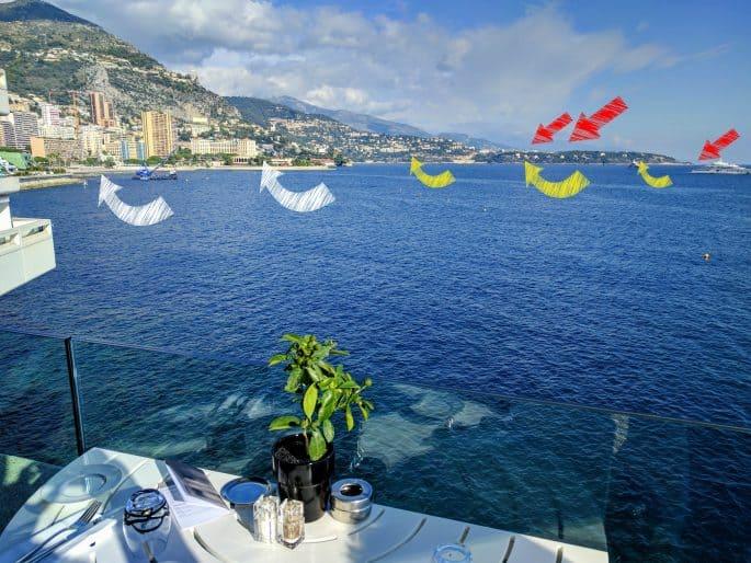 Mônaco, França e Itália vistos ao mesmo tempo