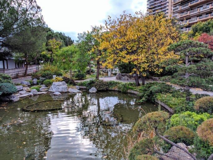 O Jardim Japonês, em Mônaco