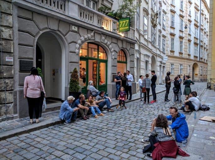 Livraria em Viena: 777