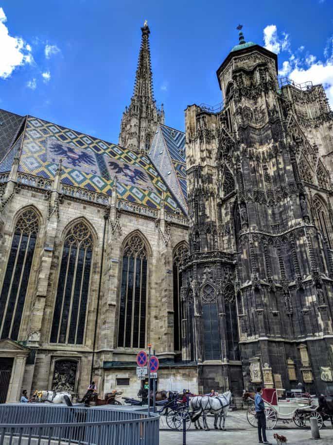 Catedral de Santo Estêvão, em Viena