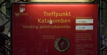 Viena: visita às catacumbas (bbbrrr!) da Catedral de Santo Estêvão