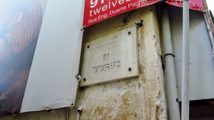 Rota do Crime do Padre Amaro, em Leiria | Travessa da Tipografia