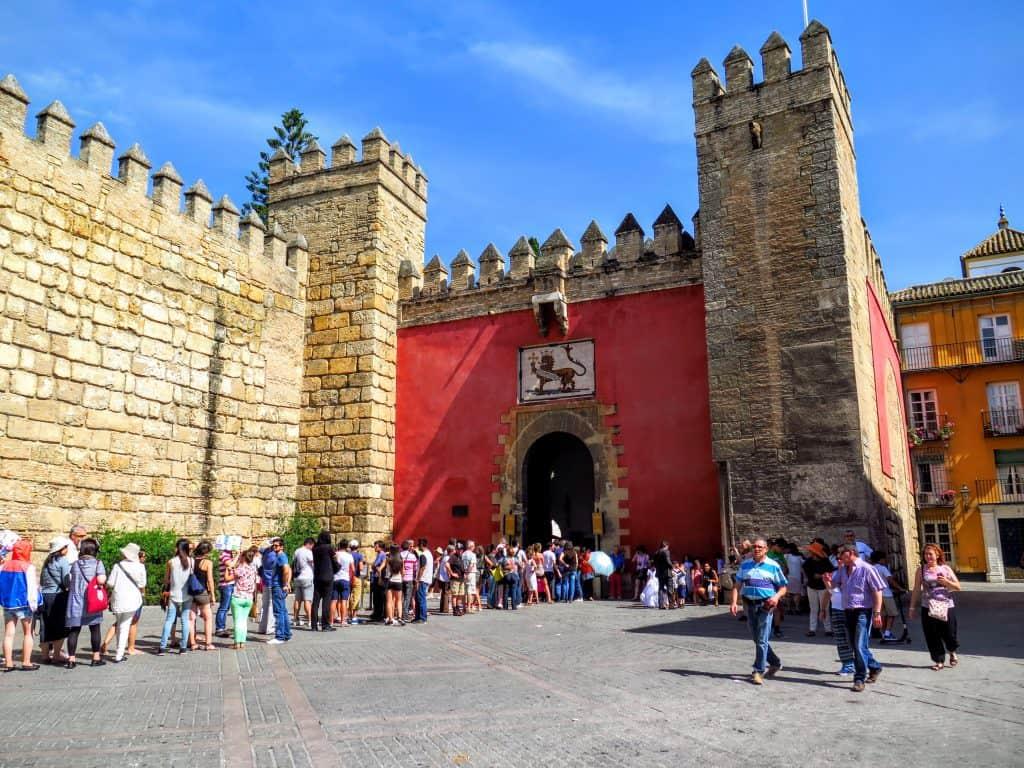 Palácio em Sevilha.