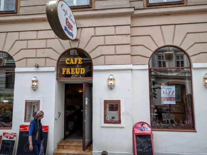 Café Freud, em Viena