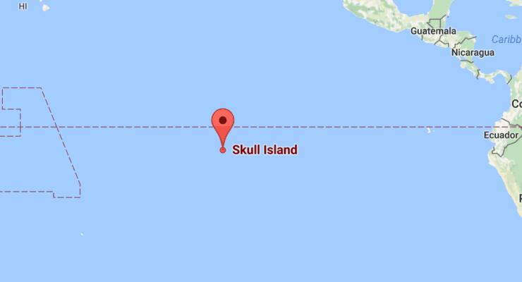 Kong: localize a Ilha da Caveira no Google Mapas