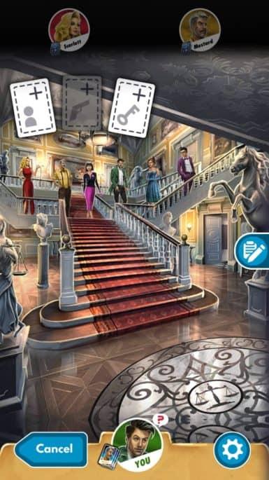 Jogo Detetive (Clue) para Android e iOS