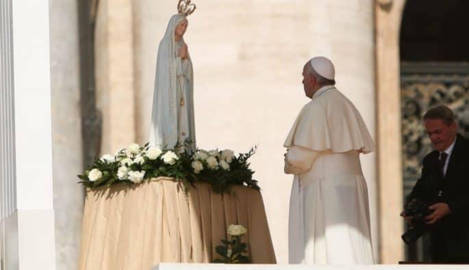 Papa em Fátima, Portugal