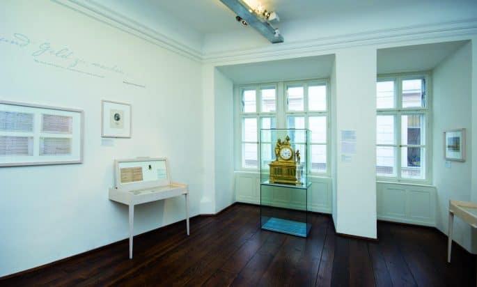 Interior do apartamento de Mozart em Viena