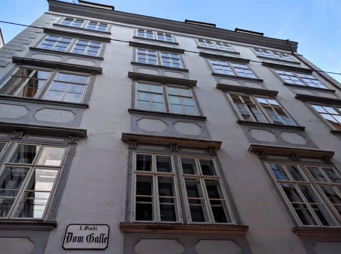 Casa de Mozart em Viena: Domgasse