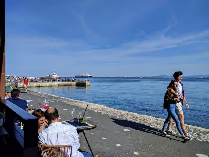Cais do Sodré, em Lisboa
