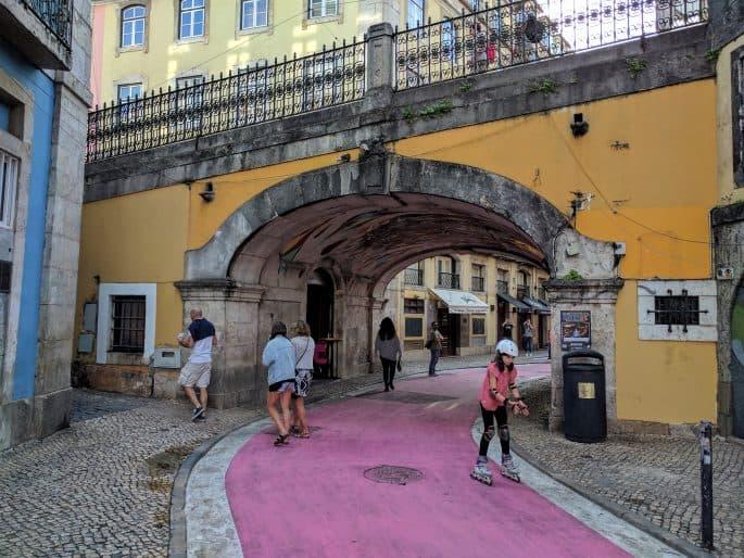 Cais do Sodré: Rua Cor-de-Rosa
