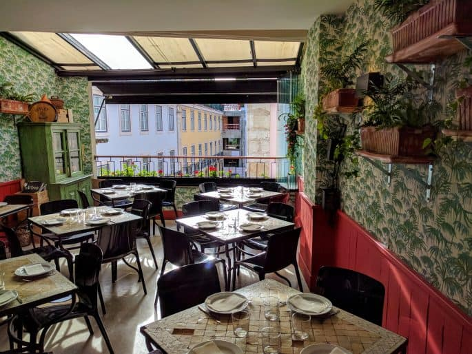 Tapas Bar 47, no Chiado