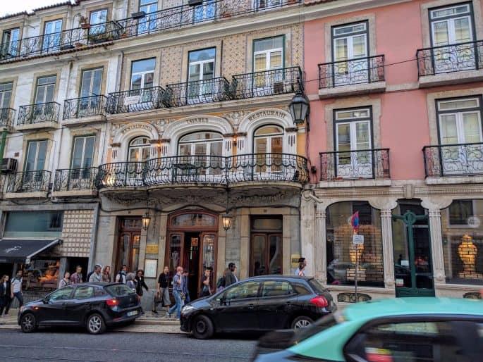 Restaurante Tavares: fachada