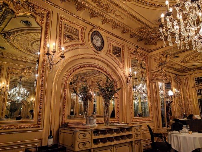Restaurante Tavares: interior