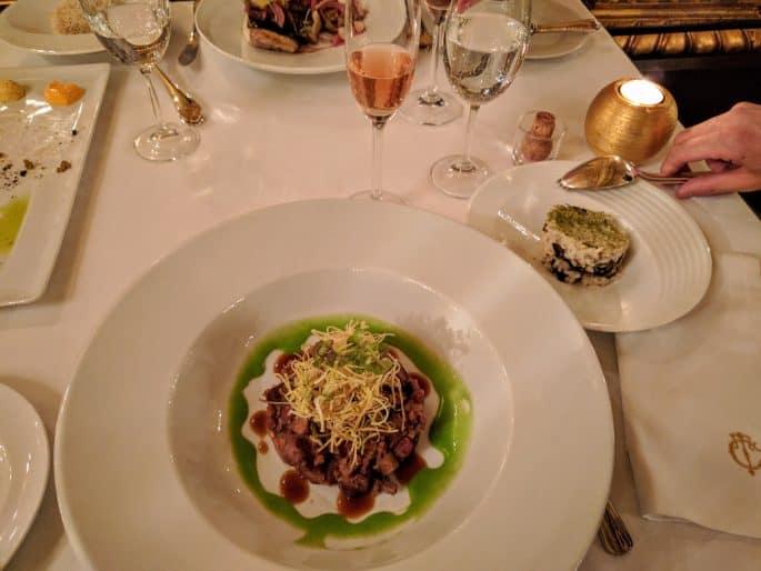 Restaurante Tavares: refeição
