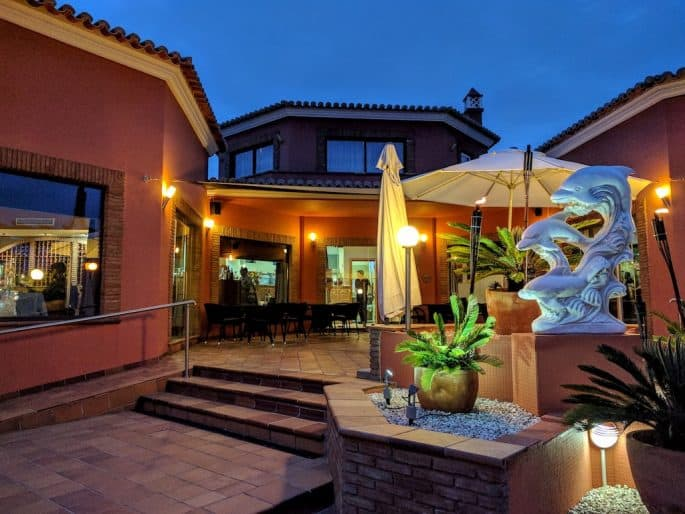 Restaurante Hexagone, em Carvoeiro