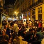 Cais do Sodré: agitação de bares e restaurantes em Lisboa