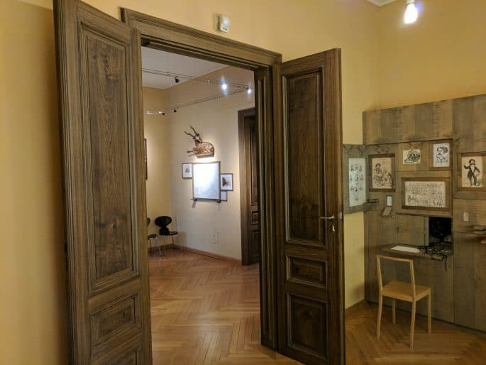 Interior do Museu-Apartamento Johann Strauss