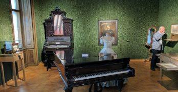 Visita ao apartamento de Johann Strauss, em Viena