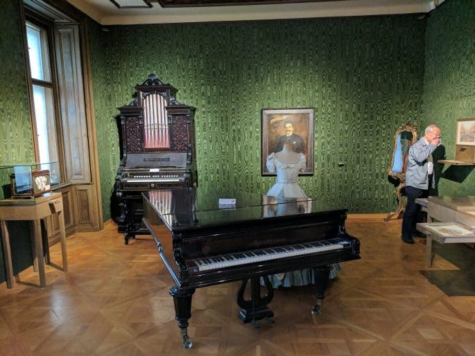 Interior do Museu-Apartamento Johann Strauss