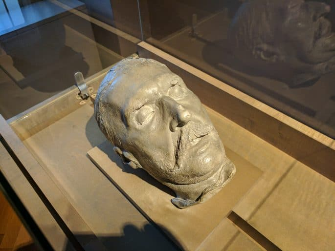 Máscara mortuária de Johann Strauss