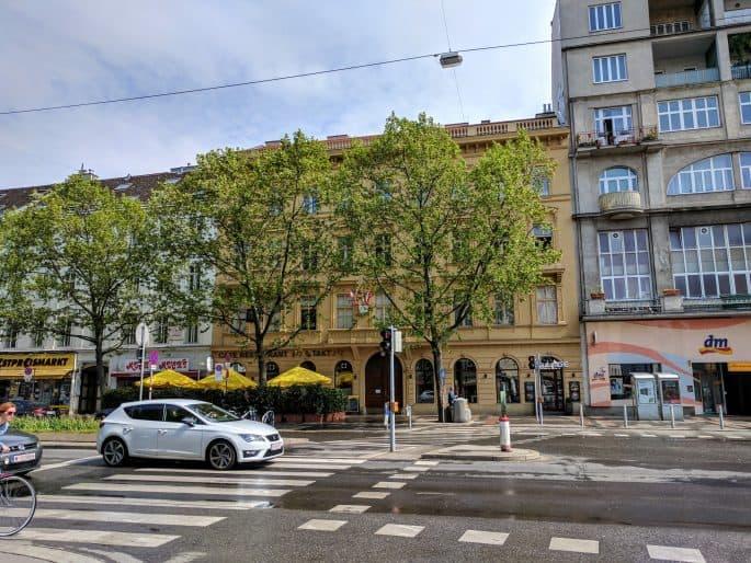 Apartamento de Johann Strauss em Viena: o prédio