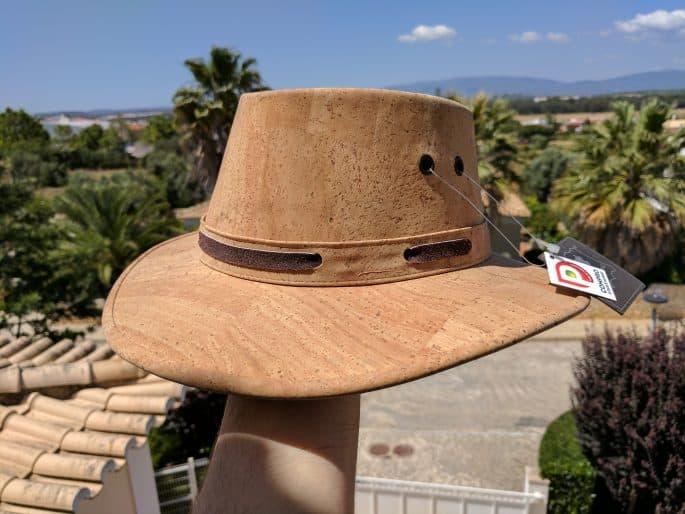 Chapéu de cortiça feito em Portugal