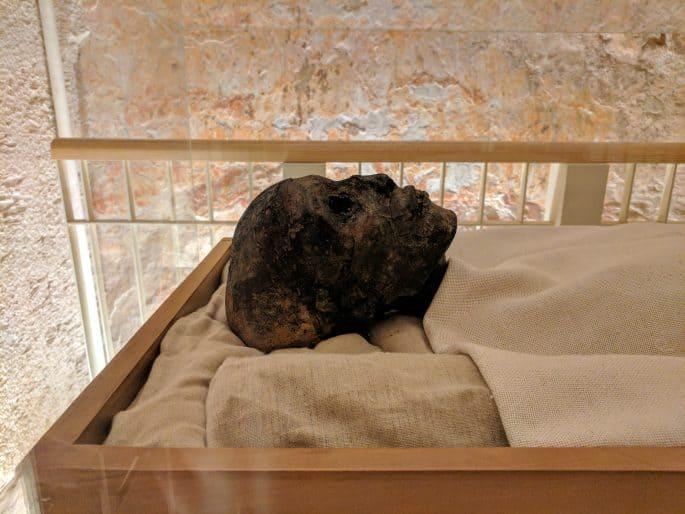 O corpo de Tutancamon