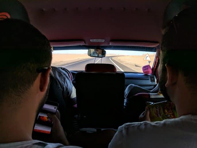 Estradas no Egito