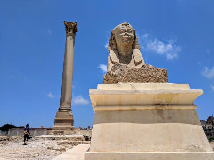 Roteiro básico para turismo em Alexandria