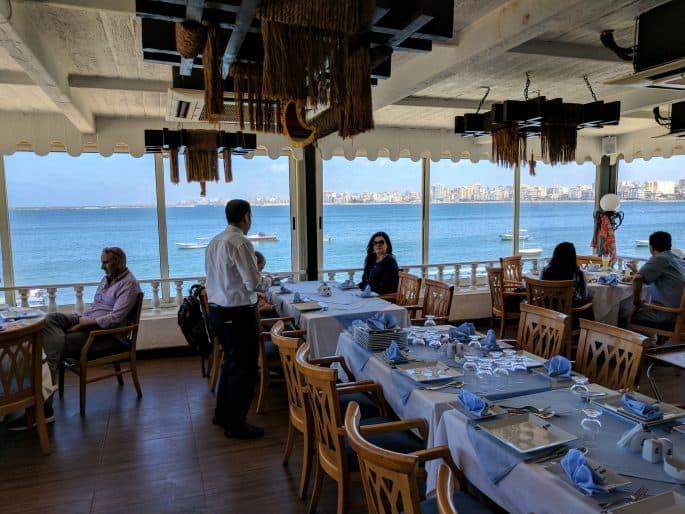 Restaurante em Alexandria