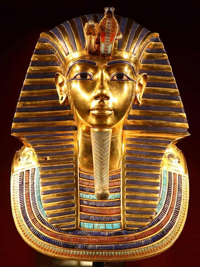Máscara de Tutancamon